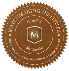 The Matchmaking Institute seal