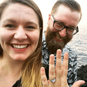 Photo of Jenna and Chad, a Bristlr success story