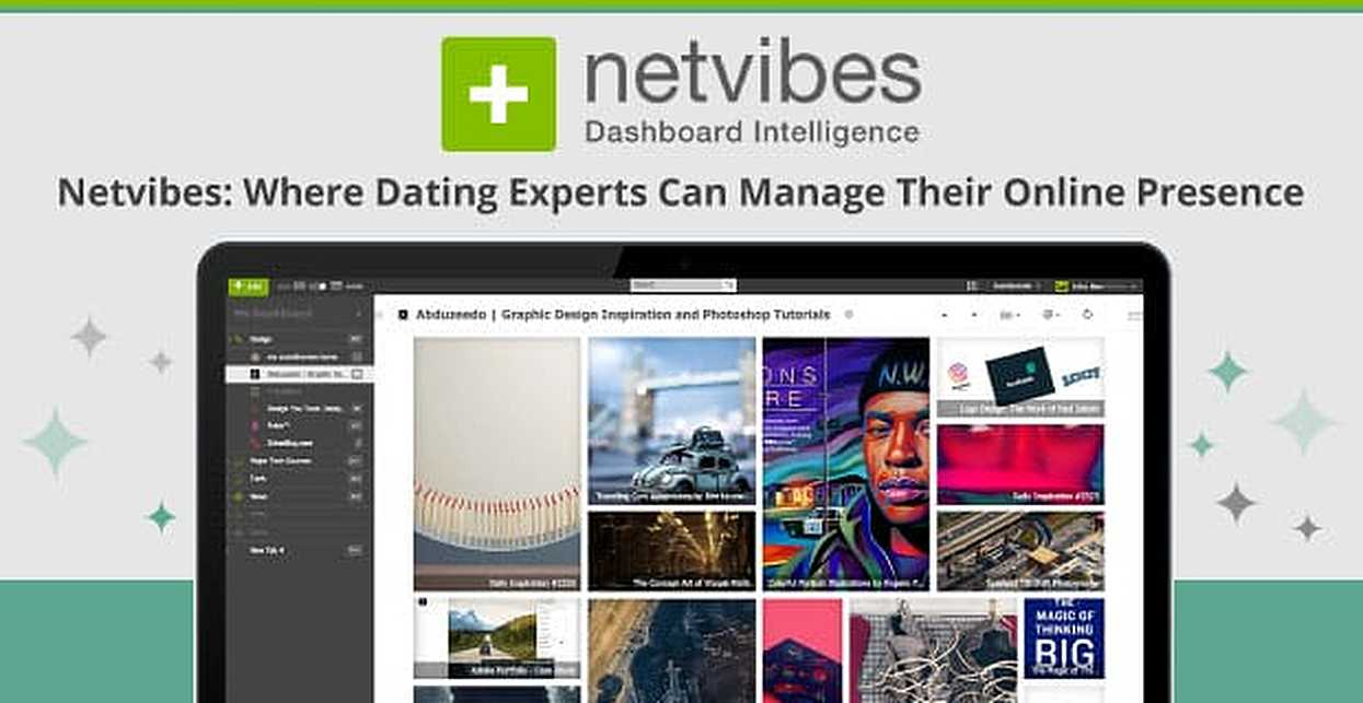 Netvibes: A Free Dashboard Where Dating Experts Can Manage Their Brands, Blogs & Social Media Accounts