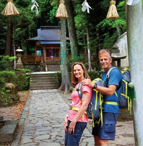Photo of a couple on a Country Walkers tour