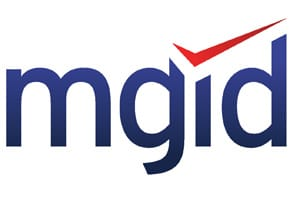Photo of the MGID logo