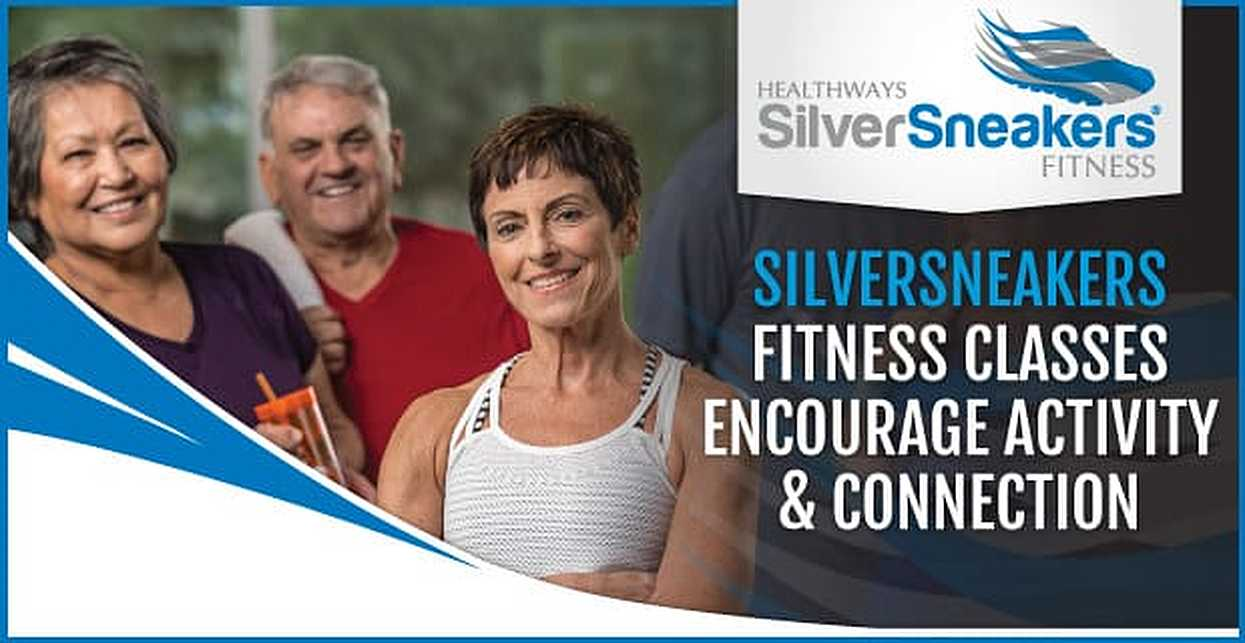 What classes are available under the SilverSneakers Fitness program?