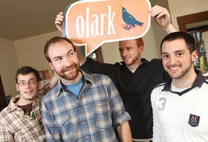 Photo of Olark's Co-Founders