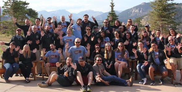 Photo of the Olark team
