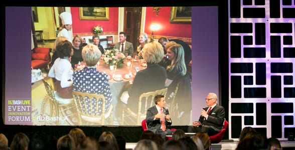Photo of a BizBash live event presentation
