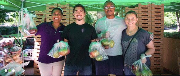 Photo of City Harvest volunteers