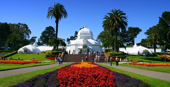Photo of the Conservatory of Flowers