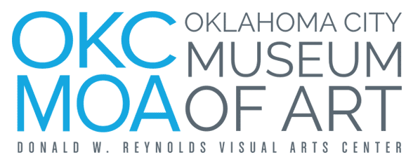 Photo of the Oklahoma City Museum of Art logo