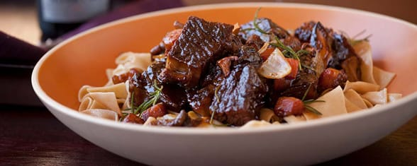 Photo of beef short rib bourguignon