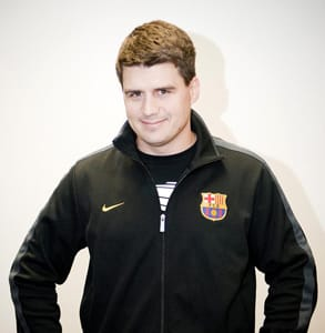 Photo of Charlie Reverte, Senior Director of Product Management at AddThis