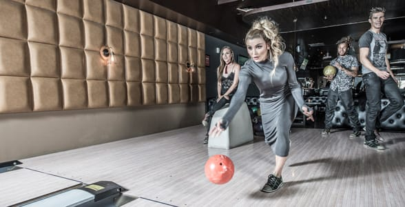 Photo of people bowling at Lucky Strike