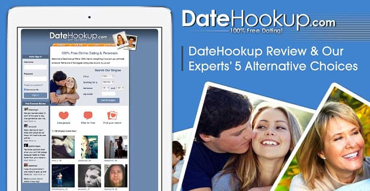 """""""DateHookup Review"""" — (And Our Experts' 5 Alternative Choices)"""