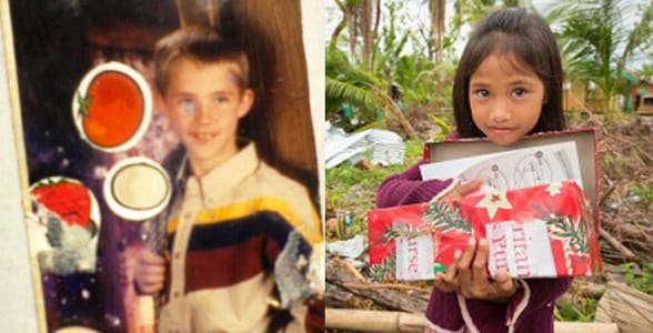 Photos of Tyrel Wolfe and Joana Marchan as kids