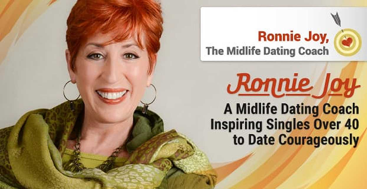 Ronnie Joy: A Midlife Dating Coach Inspiring Singles Over 40 to Date Courageously