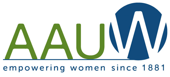 Photo of the AAUW logo