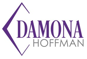 Photo of Damona Hoffman's logo