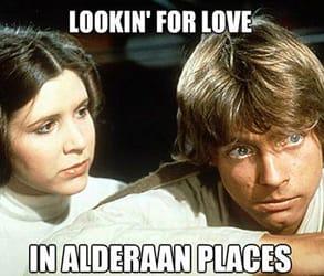 A Star Wars meme