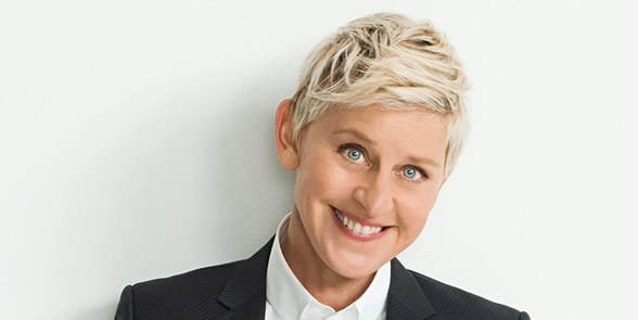 Photo of Ellen Degeneres, comedian and lesbian