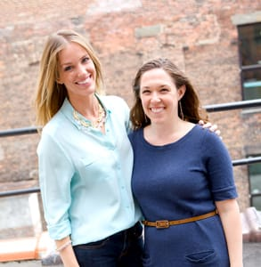 Photo of Verily Co-Founders, Kara Eschbach and Janet Easter