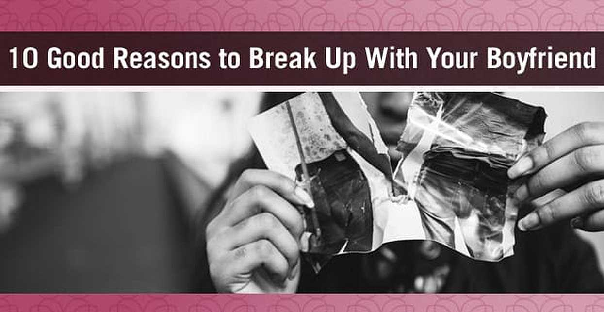 Top ten reasons for breakups