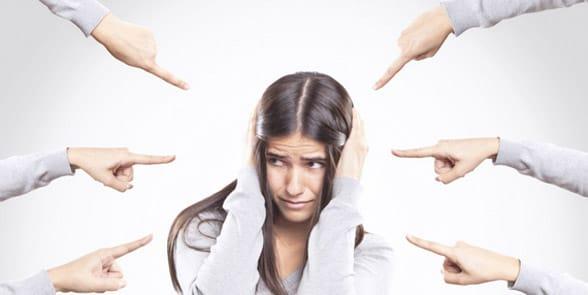 Photo of victim blaming