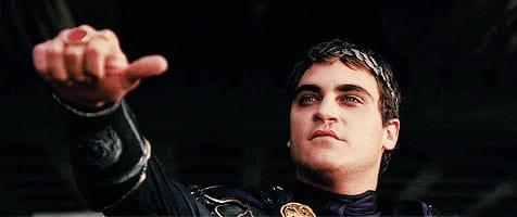 Photo of Joaquin Phoenix from Gladiator