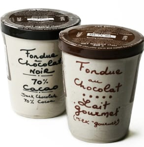 Photo of igourmet's chocolate fondue products