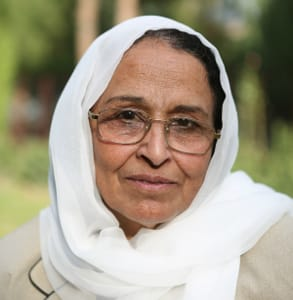 Photo of Hosai Bayani, a Provincial Council Member in Parwan, Afghanistan