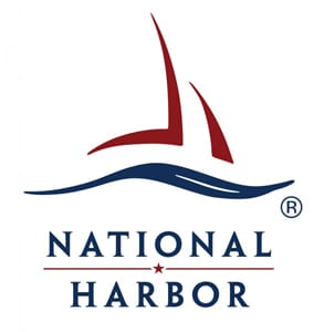 Photo of the National Harbor logo