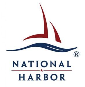 Photo of the National Harbor logo