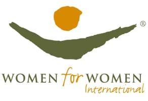 Photo of the Women for Women International logo