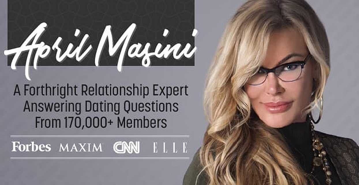 April Masini: A Forthright Relationship Expert Answering Dating Questions From 170,000+ Members