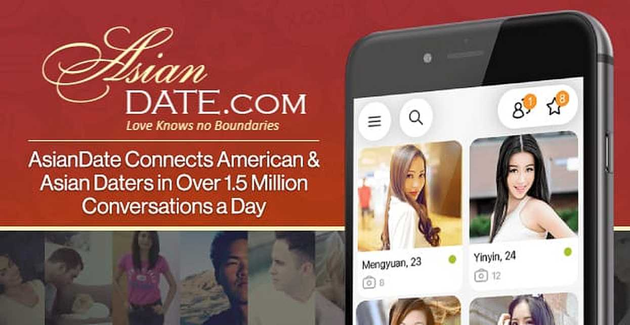 AsianDate Connects American & Asian Daters in Over 1.5 Million Conversations a Day
