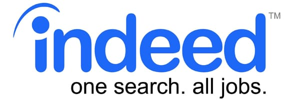 Photo of the Indeed logo