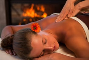 Photo of a massage session at Post Ranch Inn