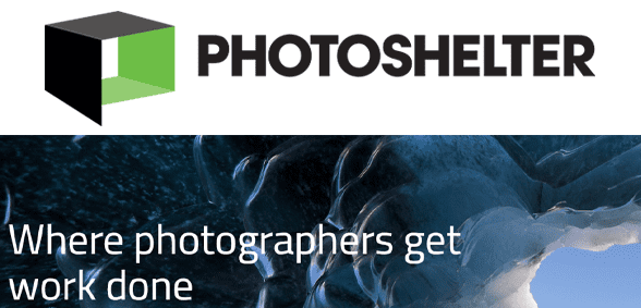 Photo of the PhotoShelter logo