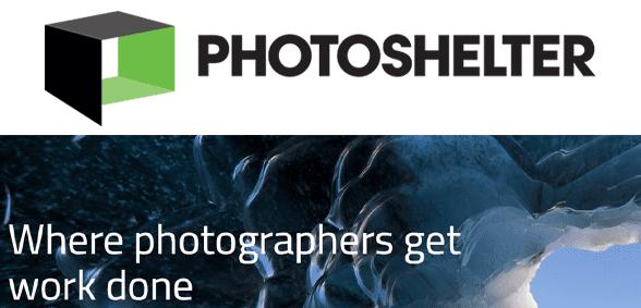 Photo of the PhotoShelter logo