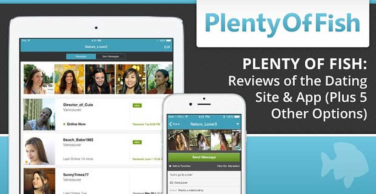 Review for plenty of fish hookup site