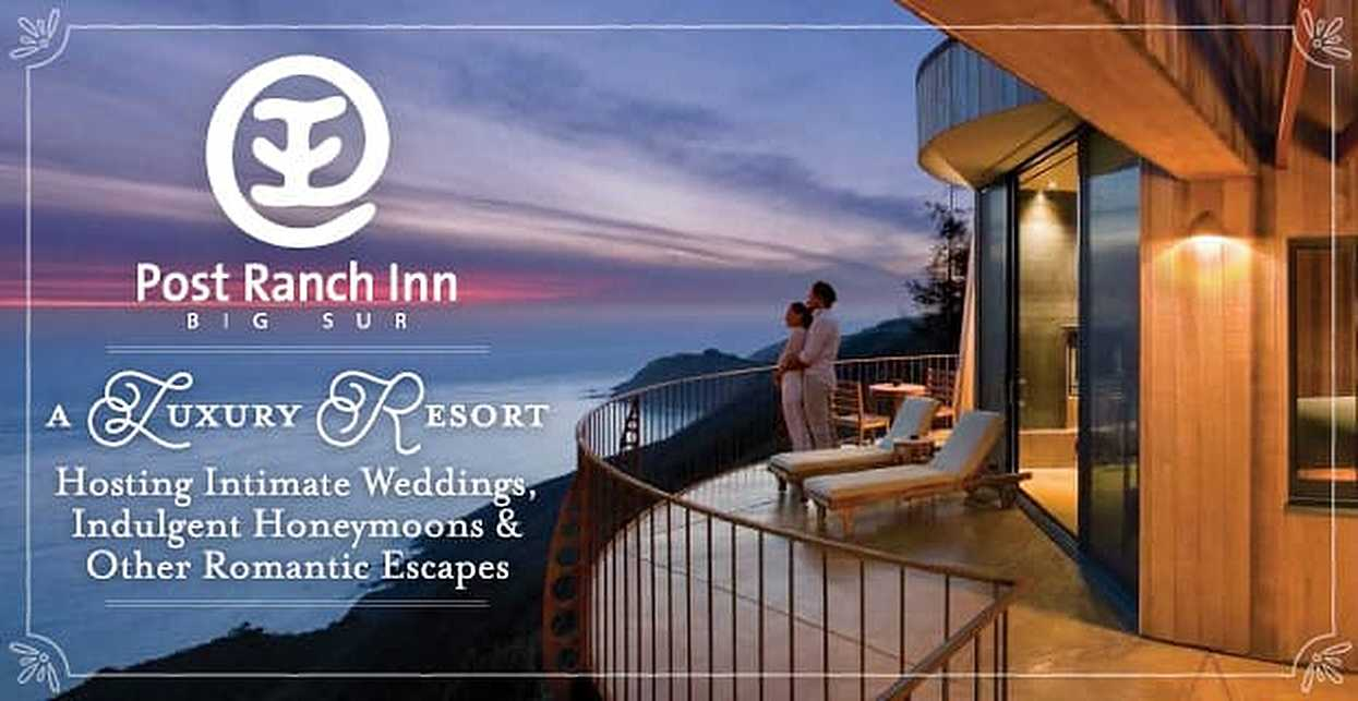 Post Ranch Inn: A Luxury Resort Hosting Intimate Weddings, Indulgent Honeymoons & Other Romantic Escapes