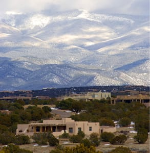 Photo of the Sangre De Cristo Mountains in Santa Fe