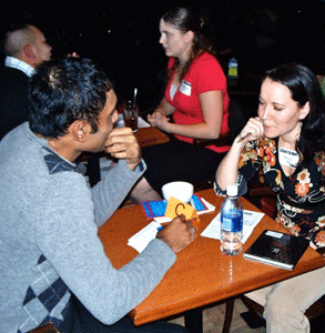 Photo of a 25Dates.com speed dating event
