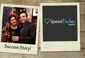 Photo of Anu and Ian, who met at a SpeedDater event