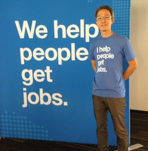 "Photo of Indeed's CEO, Hisayuki ""Deko"" Idekoba"