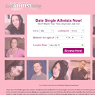 Atheist dating sites reviews