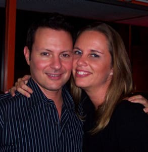 Photo of 25Dates.com Founder Ragna Stamm'ler-Adamson and her husband Aaron