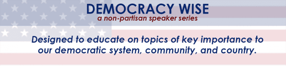 Photo of the Democracy Wise logo