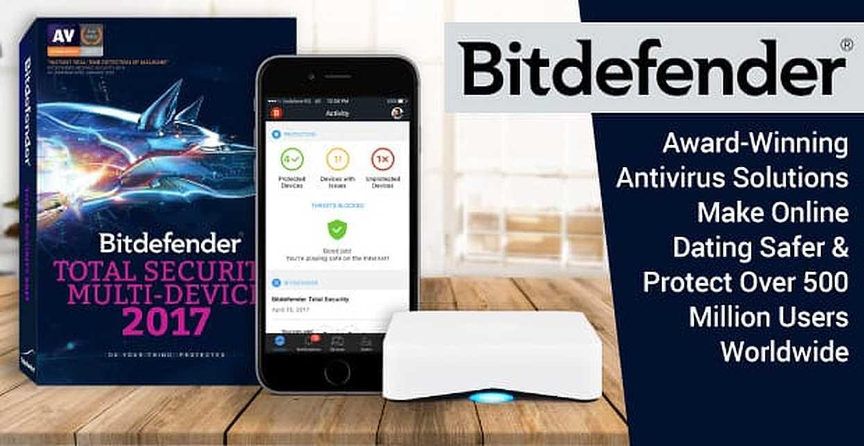 Bitdefender — Award-Winning Antivirus Solutions Make Online Dating Safer & Protect Over 500 Million Users Worldwide