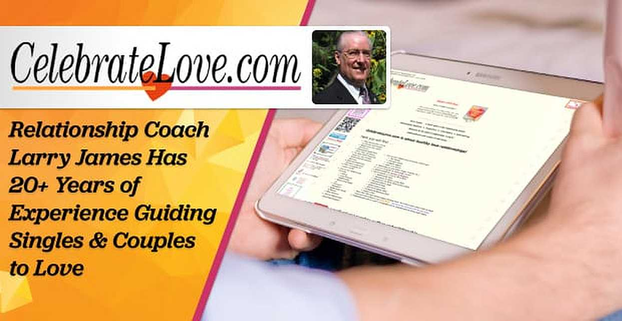 Relationship Coach Larry James Has 20+ Years of Experience Guiding Singles & Couples to Love