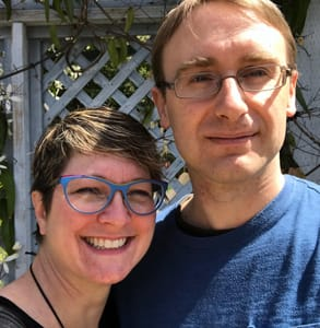 Photo of Mike and Tara Campbell, Behind the Name's Founders