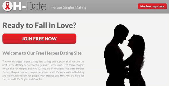 Hookup with herpes sites for free